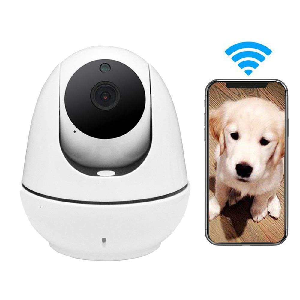 LEERAIN Dog Camera,Pet Monitor,Wireless Security Camera,720p Hd Cat Surveilance,For Baby dog cat With Motion Detection Night Vision One Touch Calling Two-way Audio