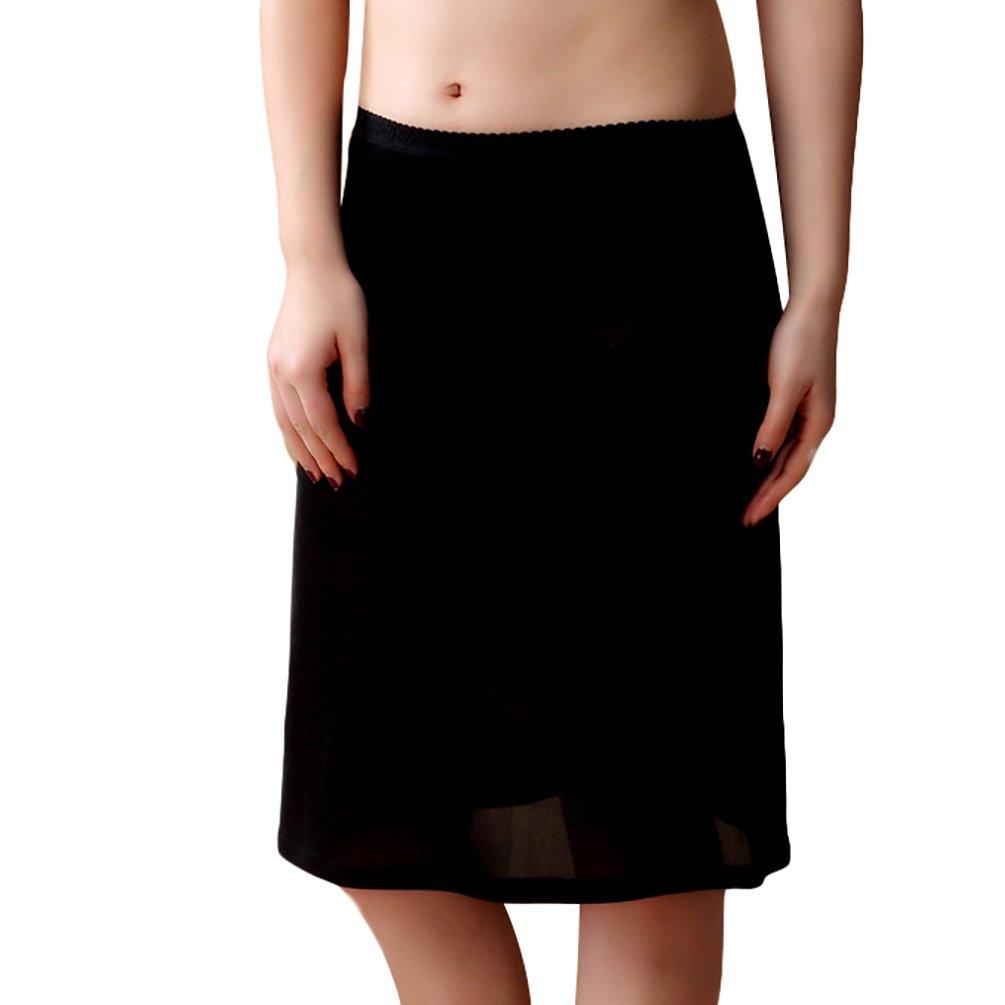 Baymate Underwear Damen Mini Unterrock Jupon Frauen Unterkleid /über Das Knie