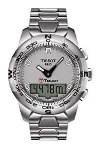 Tissot Men's T0474201107100 T-Touch II Grey Digital Multi Function Watch