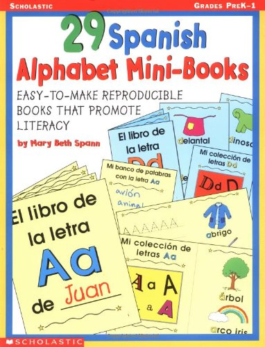 29 Spanish Alphabet Mini-books (Books Alphabet Mini)