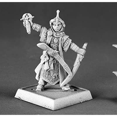 Reaper Kyra Female Iconic Cleric Pathfinder Miniatures: Toys & Games