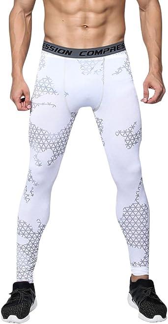 legging sport homme blanc