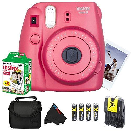 Fujifilm Instax Mini 8 Instant Film Camera  + Fujifilm INSTA