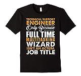 Mens Technical Support Engineer Not An Actual Job Title T-Shirt 3XL Black