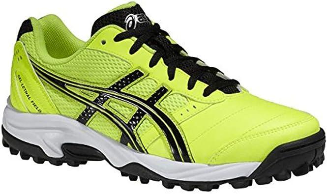 Asics - Zapatillas de Hockey sobre Hierba para niño, Color Amarillo, Talla UK5.5: Amazon.es: Zapatos y complementos