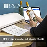 Waterproof Sticker Paper, White Matte, Comparable