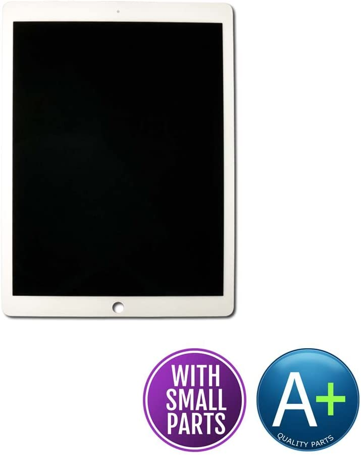 White Front Glass Touch LCD Digitizer Assembly for Apple iPad Pro 12.9 2nd Gen