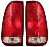 Ford F 150 250 350 450 550 97 - 07 Tail Light Pair F85Z 13404 13405 Ca