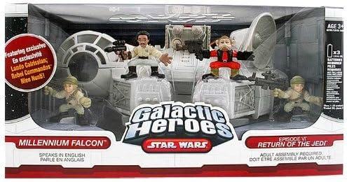 Star Wars Galactic Heroes Exclusive Falcon Lando Return Of The Jedi