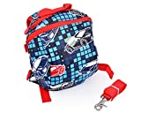 "Ace Select 9"" Safety Harness Waterproof Mini Kids Backpack w/Leash - Car"