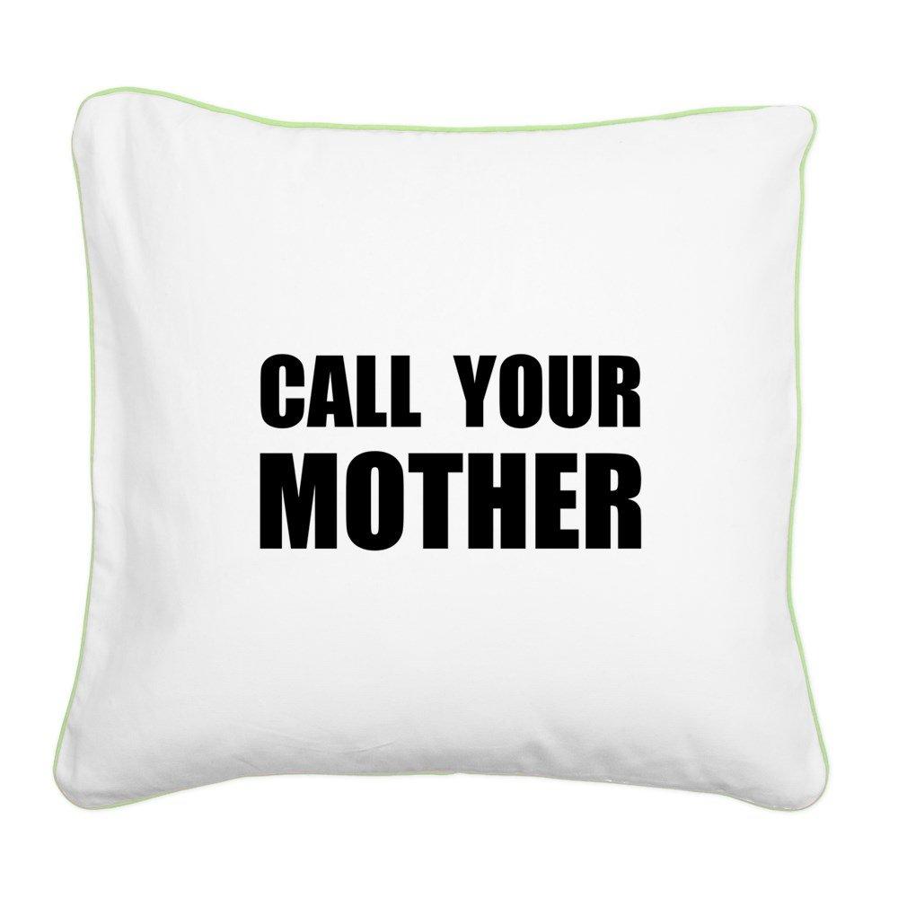 Amazon.com: CafePress – Call su madre black. png – Lienzo ...