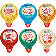 144 Count Coffee Mate Liquid .375oz Variety Pack (6 Flavor)