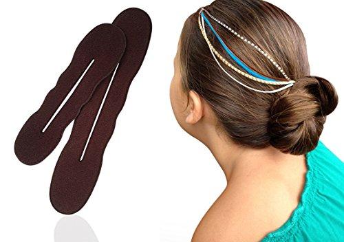 brown hair bun maker - 7