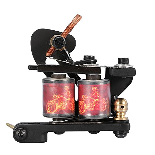 Yuyte 3 Colors Professional Tattoo Machine Reel Film Coils Gun Frame For Shader Supply Equipment(02)
