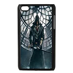 iPod Touch 4 Phone Case Black Assassin Creed-5 ZDC421142