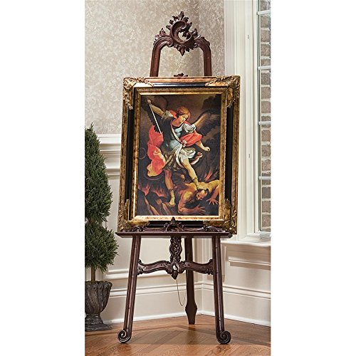 Design Toscano Louis XV Fine Art Carved Display (Louis Xv Antique Furniture)