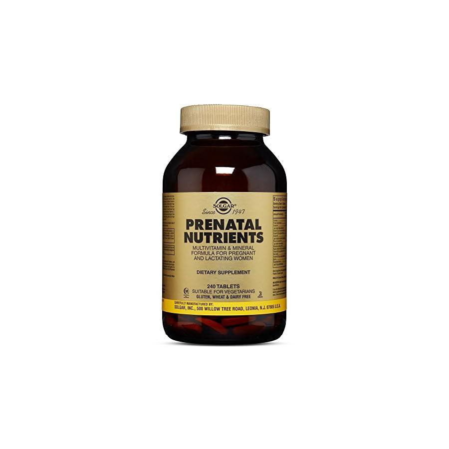 Solgar Prenatal Nutrient Tablets