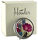 Houder Designer Pill Box Decorative Pill Case with Gift Box - Carry Your