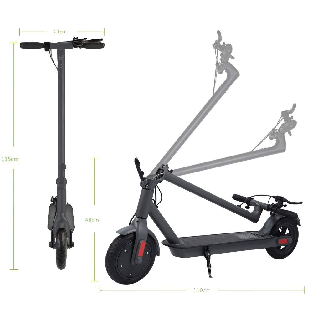 ScooterTrip Monopattino Elettrico Pieghevole 30 km di Autonomia Ruote 8,5 Pneumatici velocit/à Massima 30km//h Unisex Adulto