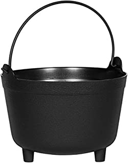 product image for Antique Kettle Planter, Black, 15-Inch