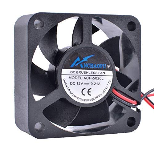 ANCHAOPU ACP-5020L 5cm 50mm Fan 50x50x20mm DC12V 0.21A La...