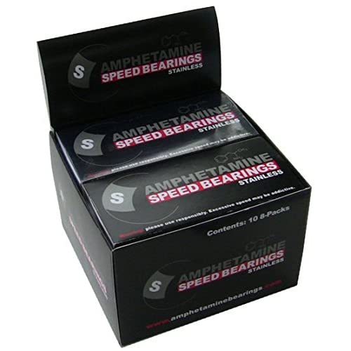 Image of Amphetamine Stainless Steel Packaged Bearings (Box of 10) Bearings