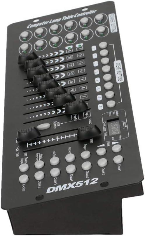 UKing Controlador Dmx512 Controlador de 192 canales Consola DMX ...