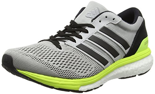 De Gris Two Running Adidas Boston Chaussures 6 Black solar Yellow core Adizero grey Femme W nvxf8qXB