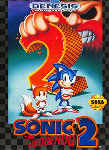 Sonic the Hedgehog 2 (Renewed) (Sega Genesis Games)