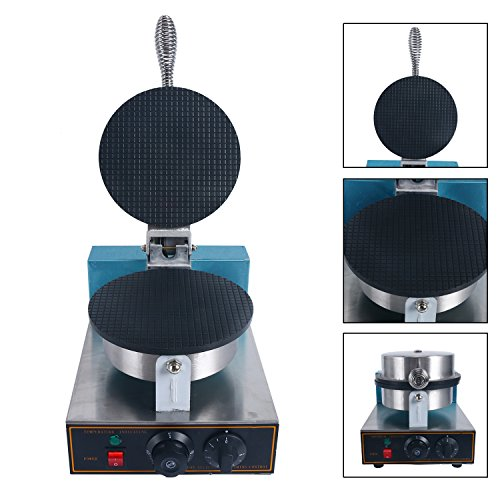 YaeKoo Electric Egg Biscuit Roll Maker Machine Bake Machine Baker Pastry Making Baking Tools Electric Egg Roll Ice Cream Cone Maker ()