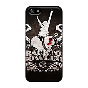 Shock-Absorbing Cell-phone Hard Cover For Iphone 5/5s (lpe6044BulV) Unique Design Vivid Metallica Image