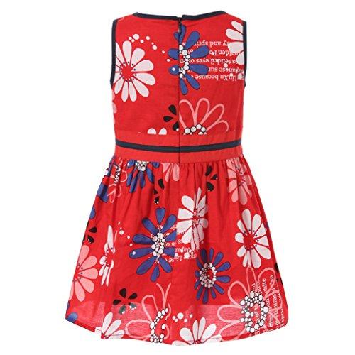 WL-MONSOON Little Girls' DIY Print Dress Size US 2