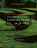 img - for From Concept to Form in Landscape Design book / textbook / text book