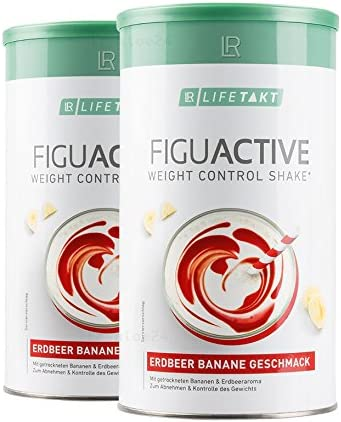 LR LIFETAKT Figuactiv Shake Erdbeer-Banane 2er Pack
