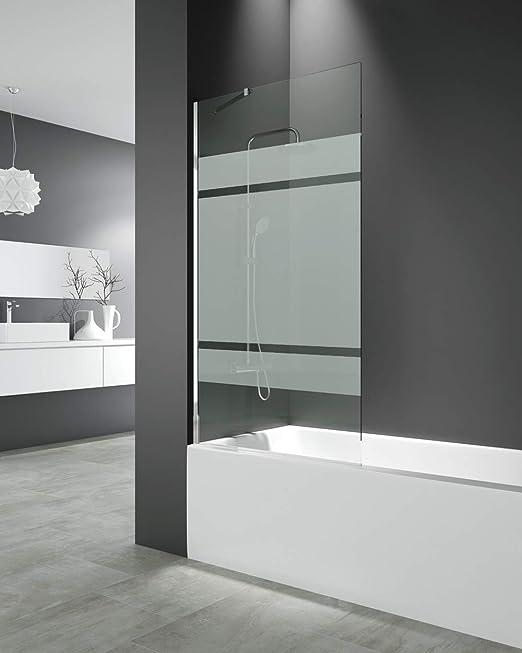 Panel fijo para bañera 150x85 cm - Modelo Screen de GME - Cristales de 8 mm con Tratamiento antical de serie (FROST PLUS): Amazon.es: Bricolaje y herramientas