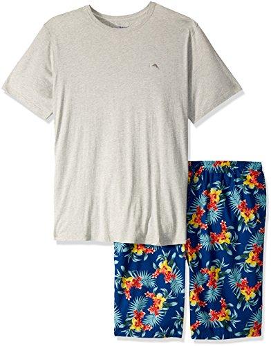 Tommy Bahama Men's Size Large Floral Woven Jam Pj Set-Tall, 3XT ()