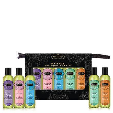 New Kama Sutra Massage Tranquility Kit 5 Flavors