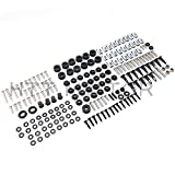 #5: HTTMT- Complete Fairing Bolts Kit For Yamaha YZF R6 2003-2005 03 04 05 New Stainless