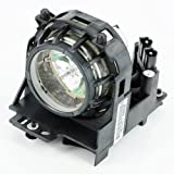 Quality Compatible DT00581/CPS210LAMP Replacement Lamp for HITACHI CP-S210/S210F/S210T/S210W PJ-LC5/LC5W Projector Bulb/Lamp with Housing HS160 Watt 180 Days Warranty