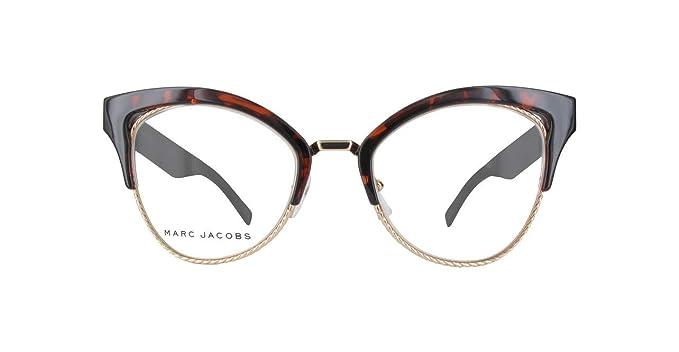 official photos 04239 81a48 Marc Jacobs Occhiali da Vista MARC 216 DARK HAVANA GOLD ...