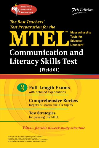 MTEL Communication and Literacy Skills Test (Field 01) (MTEL Teacher Certification Test Prep)