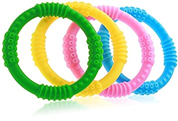 Baby Teething Gloves Soothing Teether Toy For 3-12 Months Suitable 6 Months Baby