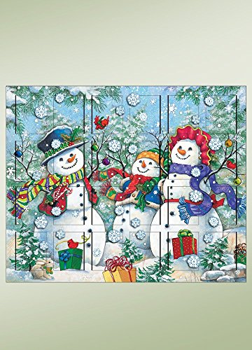 Byers Choice Snowman Advent Calendar by Byers' Choice