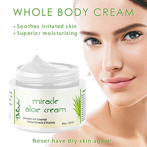 Cream Face and Body Moisturizer Day and Night Skin Care Dry, Sensitive Skin, for 2 Pack By