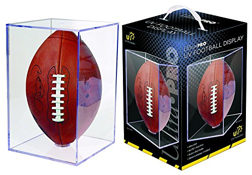 (Ultra Pro Football Clear Square UV Holder)