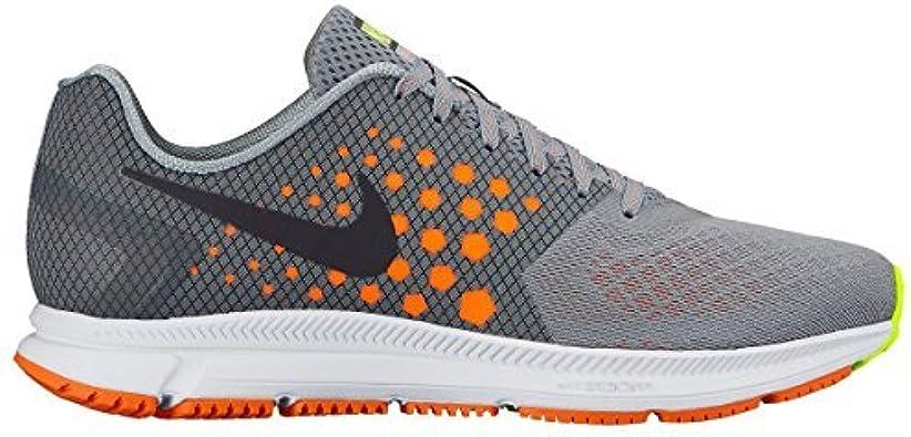 Nike Hombre Zoom palmo Gris Lobo Zapatillas running 852437 001 ...