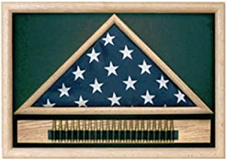product image for Military 21 Gun Salute Flag Display Case
