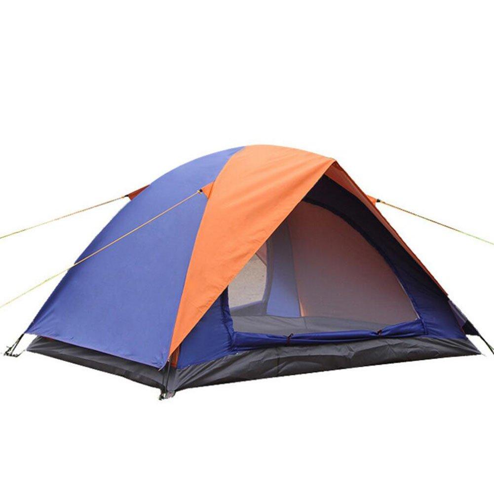 GAOJUAN Camping Zelt Portable Folding Wasserdichte Outdoor-Zelt Für Wandern Klettern Dome Durable Camping Für 1-3 Personen Einfach Einzurichten