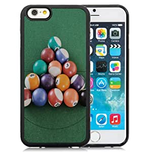 NEW DIY Unique Designed iPhone 6 4.7 Inch TPU Phone Case For Pool Balls 640x1136 Phone Case Cover