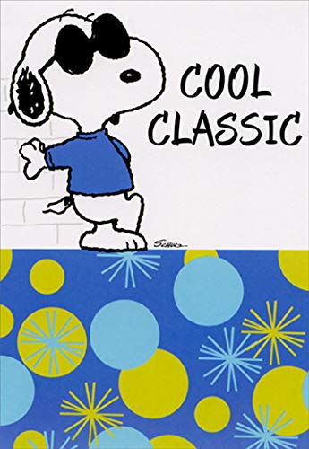 Snoopy Cool Classic Peanuts Hallmark Birthday